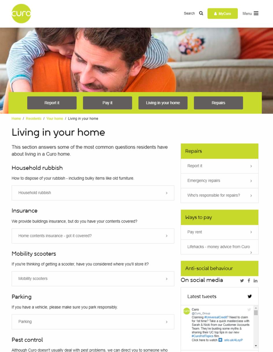 housing association website developers