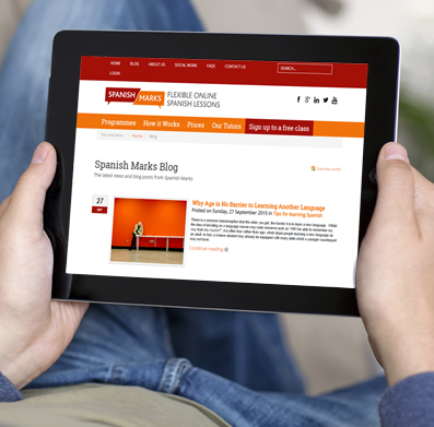AN example of an Joomla1 website development for a mobile expereince on tablet and smartphone.